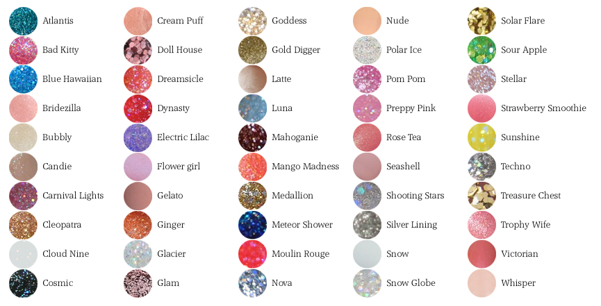 China Glaze Collections List