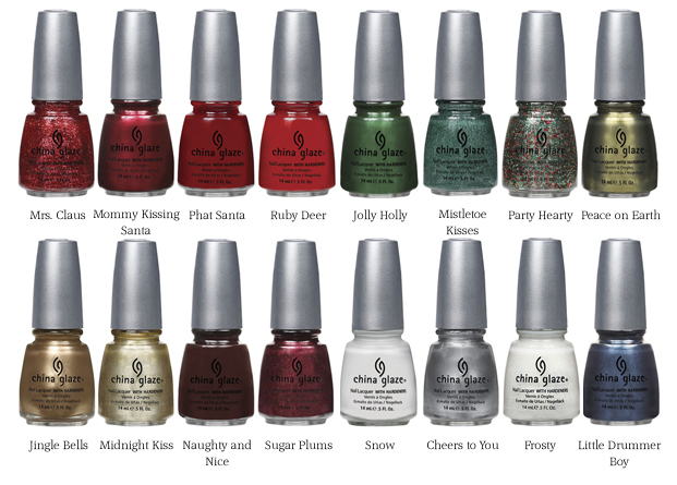 China Glaze Collections List The Polish Garden